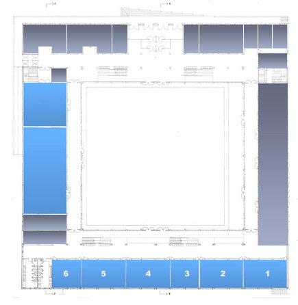 Mapa do edificio - planta baixa