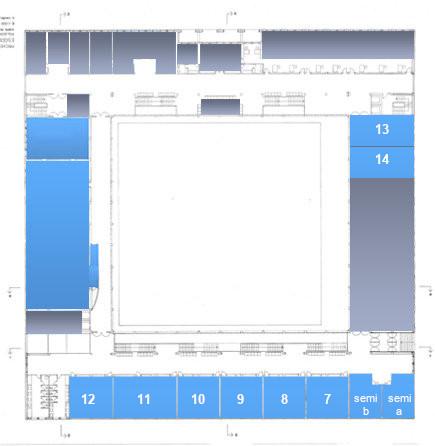 Mapa do edificio - planta primeira