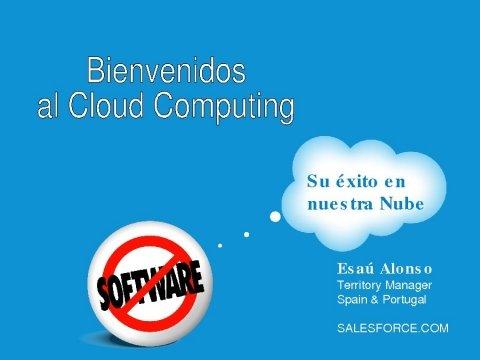 Esaú Alonso Elizo, director de Sector Público de Salesforce. - Xornadas sobre internet e servizos en nube: Retos e oportunidades para a empresa e a administración