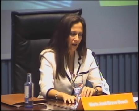 María José Bravo Bosch, profesora titular de Dereito Romano da Universidade de Vigo. - Xornadas sobre a administración cidada: Interese histórico e a súa proxección no dereito actual