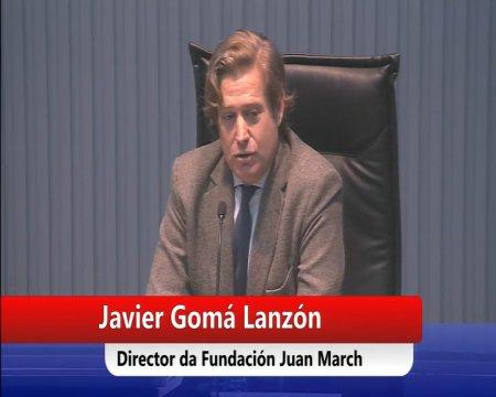 Conferencia de Javier Gomá, autor da tetraloxía da Exemplaridade